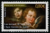 ANDORR- FRENCH - Scott NEW ISSUE Saints & Angels (1)  Another stamp from Herrick Stamp Company