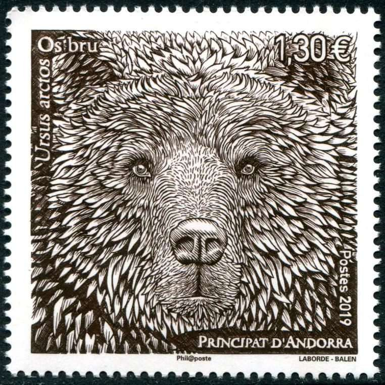 ANDORRA-FRENCH - Brown Bear (1)