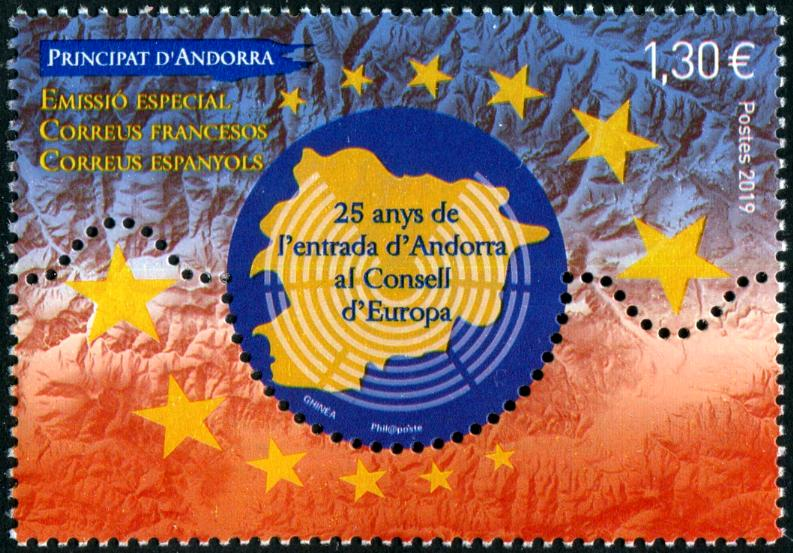 ANDORRA-FRENCH - Council of Europe Joint with Spanish Andorra (1)
