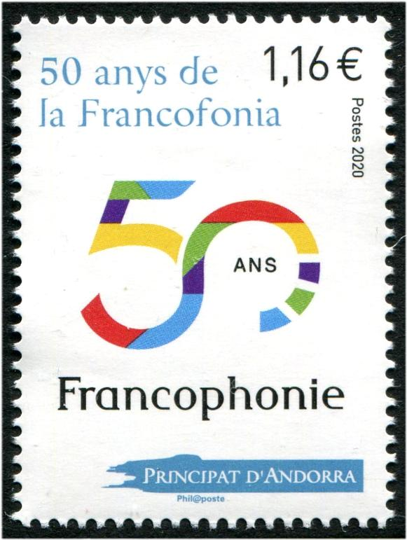 ANDORRA-FRENCH - Francophonie 2020 (1)