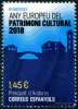 ANDORRA-SPANISH - Scott NEW ISSUE European Year of Cultural Heritage (1)  Another stamp from Herrick Stamp Company