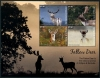ANTIGUA - Scott NEW ISSUE Fallow Deer Sheetlet II of 4 Different (1)  Another stamp from Herrick Stamp Company