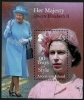 ASCENSION - Queen Elizabeth II 90th Birthday Souvenir Sheet (1)