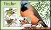 AUSTRALIA - Scott NEW ISSUES Finches Part 2 Souvenir Sheet (1)  Another stamp from Herrick Stamp Company