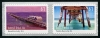 AUSTRALIA - Scott NEW ISSUE Jetties Self-Adhesive Coil Strip of 2 Different (1)  Another stamp from Herrick Stamp Company