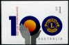 AUSTRALIA - Scott NEW ISSUE Lions Club International Self-Adhesive (1)  Another stamp from Herrick Stamp Company