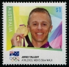 AUSTRALIA - Scott NEW ISSUE Jared Tallent London 2012 Olympic Gold Medal Winner (1)  Another stamp from Herrick Stamp Company