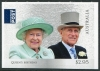 AUSTRALIA - Scott NEW ISSUE Queen Elizabeth II Birthday 2017 Self-Adhesive (with Prince Philip) (1)  Another stamp from Herrick Stamp Company