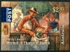 AUSTRALIA - Scott NEW ISSUE Henry Lawson Self-Adhesive (Mitchell) (1)  Another stamp from Herrick Stamp Company