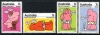 AUSTRALIA - Scott 541-44 Metric Cartoons Wholesale Lot of 3  Another stamp from Herrick Stamp Company