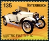 AUSTRIA - Scott NEW ISSUE Fiat 1C Auto (1)  Another stamp from Herrick Stamp Company