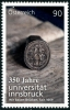 AUSTRIA - Scott NEW ISSUE Innsbruck University (1)  Another stamp from Herrick Stamp Company