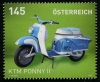 AUSTRIA - Scott 2483 Motorcycles 2014 - KTM Pony Scooter (1)  Another stamp from Herrick Stamp Company