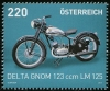 AUSTRIA - Scott 2554 Motorcycle - Delta Gnom (1)  Another stamp from Herrick Stamp Company