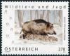 AUSTRIA - Scott NEW ISSUE Wild Boar (1)  Another stamp from Herrick Stamp Company