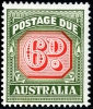 AUSTRALIA - Scott J91 Six Pence Wholesale Lot of 3  Another stamp from Herrick Stamp Company