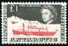 British Antarctic stamp, Herrick Stamp, Ship Stamp