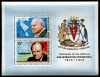 BRITISH ANTARCTIC TERRITORY - Scott 63A S in this lot. Scott Retail $375.00-Churchill Birth Anniv. S-S Wholesale Lot. There are 25 S  Another stamp from Herrick Stamp Company