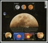BELGIUM - Scott NEW ISSUE Super Moon Sheetlet of 5 Different (1)  Another stamp from Herrick Stamp Company