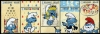 BELGIUM - Scott NEW ISSUE Smurfs Strip of 5 Different (1)  Another stamp from Herrick Stamp Company