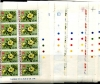 BERMUDA - Scott 255-71 1970 Flowers Plate Blocks of Ten