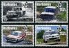 BARBADOS - Scott NEW ISSUE Motor Sports (4)  Another stamp from Herrick Stamp Company
