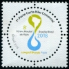 BRAZIL - Scott NEW ISSUES World Water Forum 2018 (Round) (1)  Another stamp from Herrick Stamp Company