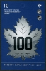 CANADA - Scott NEW ISSUE Toronto Maple Leafs 100th Anniversary Self-Adhesive Booklet of 10 @ Face (1)  Another stamp from Herrick Stamp Company