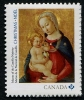 CANADA - Scott NEW ISSUE Christmas 2016 Madonna & Child Self-Adhesive (P/3 @ Face) (1)  Another stamp from Herrick Stamp Company