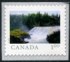 CANADA - Scott NEW ISSUE Pisew Falls Self-Adhesive Coil (P/3 @ Face) (1)  Another stamp from Herrick Stamp Company