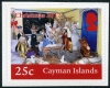 CAYMAN ISLANDS - Scott NEW ISSUE Christmas 2017 Self-Adhesive (1)  Another stamp from Herrick Stamp Company