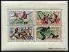 CENTRAL AFRICA - Scott C23A 1964 Tokyo Olympics Wholesale Lot of 3 Mini Sheets. Scott Retail $54.00  Another stamp from Herrick Stamp Company