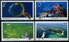 CHINA-TAIWAN - Scott NEW ISSUE Dongsha Atoll National Park (Bird, Fish, Marine Life) (4)  Another stamp from Herrick Stamp Company