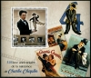 CONGO - Scott NEW ISSUE Charlie Chaplin, Cinema Souvenir Sheet (P/3 @ Face) (1)  Another stamp from Herrick Stamp Company
