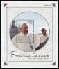 COLOMBIA - Scott NEW ISSUE Pope Francis Visit 2017 Souvenir Sheet (1)  Another stamp from Herrick Stamp Company