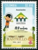 COLOMBIA - Scott NEW ISSUE New Future Assoc. 25 Years (1)  Another stamp from Herrick Stamp Company