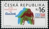 CZECH REPUBLIC - Scott NEW ISSUE Rio 2016 Paralympics (1)  Another stamp from Herrick Stamp Company
