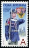 CZECH REPUBLIC - Scott NEW ISSUE Castle Guard (1)  Another stamp from Herrick Stamp Company