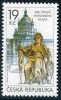 CZECH REPUBLIC - Scott NEW ISSUE Prague National Museum (1)  Another stamp from Herrick Stamp Company