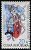 CZECH REPUBLIC - Scott NEW ISSUE International Folklore Festival Straznice (1)  Another stamp from Herrick Stamp Company