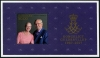 DENMARK - Scott NEW ISSUE Royal Golden Wedding Anniv. Joint with Faroe & Greenland Souvenir Sheet (P/3 @ Face) (1)  Another stamp from Herrick Stamp Company