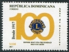 DOMINICAN REPUBLIC - Scott NEW ISSUE Lions Club Centenary (1)  Another stamp from Herrick Stamp Company