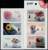 FINLAND - Scott NEW ISSUE Flowers 2019 Self-Adhesive Booklet of 6 Different (P/3 @ Face) (1)  Another stamp from Herrick Stamp Company
