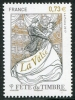FRANCE - Scott NEW ISSUE Stamp Day 2017 - Waltz (1)  Another stamp from Herrick Stamp Company