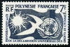 FRENCH POLYNESIA - Scott 191 Human Rights