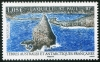 FRENCH ANTARCTIC - Scott NEW ISSUE St. Paul, La Quille Mountain (1)  Another stamp from Herrick Stamp Company
