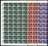 GERMANY - Scott 1184, 1186, 1189 Key 1979 Values. Michel #992-94. 500 sets in this wholesale lot.  Another stamp from Herrick Stamp Company