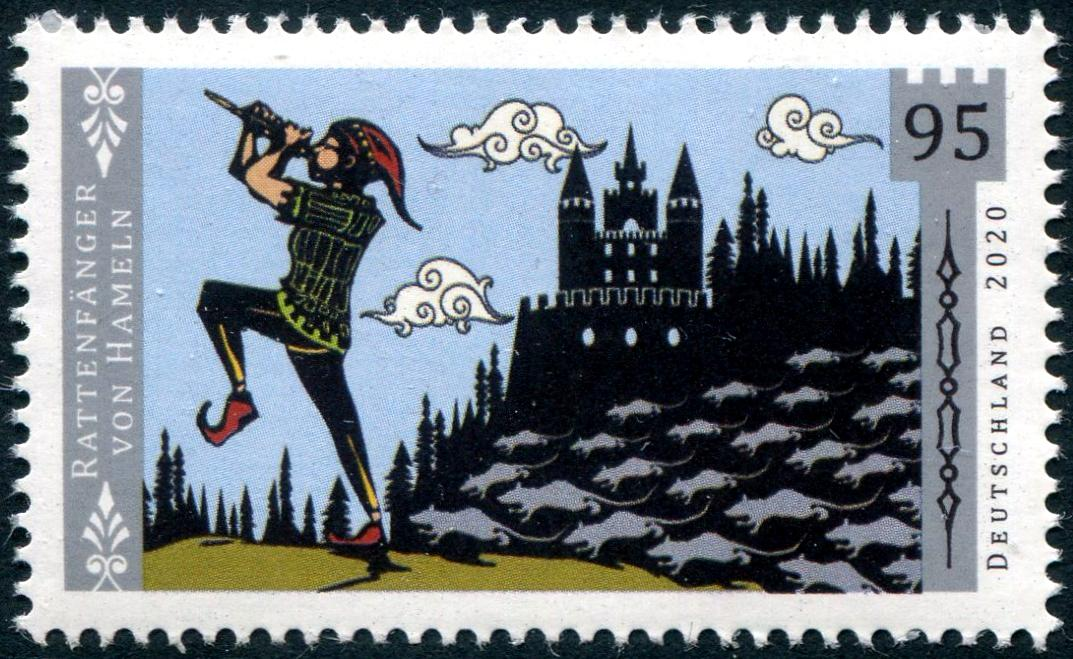 GERMANY - Pied Piper of Hamelin (1)