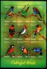 GHANA - Scott NEW ISSUE Birds Sheetlet of 9 Different (1)  Another stamp from Herrick Stamp Company