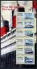 GREAT BRITAIN - Scott NEW ISSUE Royal Mail Heritage - Mail by Sea Post & Go Self-Adhesive Strip of 6 Different (P/3 @ Face) (1)  Another stamp from Herrick Stamp Company